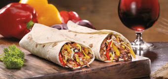 Fajitas Burrito