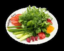 Букет зі свіжих овочів з ароматною зеленню (320г)