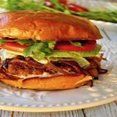 Spicy Siracha Burger