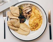 Сніданок Тель-Авівський з пастрамі