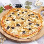 Pizza gourmet botifarra