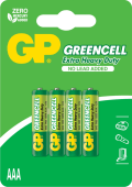 Baterie zinc carbon GP R3 (AAA) 4 buc/bister