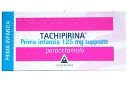 Tachipirina 10 supposte prima infanzia 125 mg