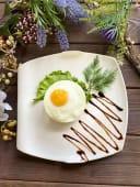Бифштекс с яйцом 1шт