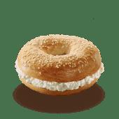 Bagel Queso Crema