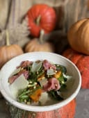 Салат з запеченим гарбузом