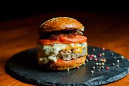 Бургер Сирний папа (4 сири)