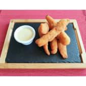 Fingers De Pollo Con Salsa Miel Y Mostaza