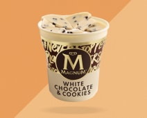 Magnum Pint White Chocolate & Cookies