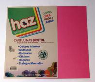 Cartulina Bristol Rosado A4 Pqtx10Hjs