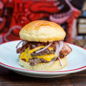 Galáctica burger (100gr de carne)