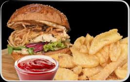 Meniu Burger Chicken +1 COCA COLA GRAUIT