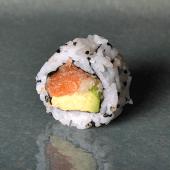 Spicy salmón crunch
