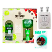 Greenall'S London 750 Ml  Pack + Fourpack Mr Perkins Dry Tonic 200 Ml