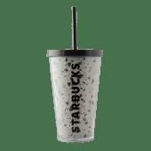 Cold Cup Terrazo Con pajita 16 oz