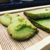 Special Matcha Cookie con Polvere di Mandorle