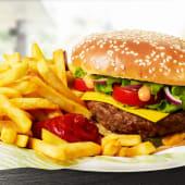 Platou American burger de vită