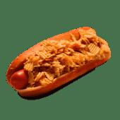 American classic hotdog