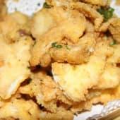 Crispy Fish Fillet With Ginger & Garlic