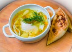 Суп курячий з локшиною