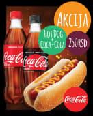 Akcija Hot dog i Coca Cola