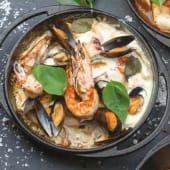 Пательня з морепродуктами (350г)