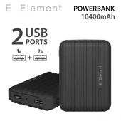 Batterie externe Noir 10400