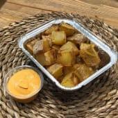 Patatas bravas rústicas