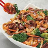 Chop suey de lomo con semilla de marañón
