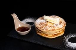 Pancakes con confettura