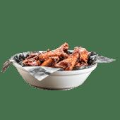 Alitas de Pollo con Salsa Bourbon XL