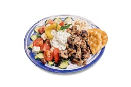 Piatto Gyros Choriatiki Salata