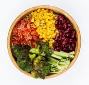 Maya bowl with broccoli