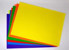 Papel Iris 80Grs A3 Colores Fluorescentes Pqx10Hjs