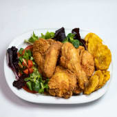 Pollo Broaster 3 Salsas