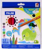 Lapices Colores Gigantes Hexagonales Jgox12Un Caja Carton Ref.0722412