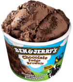 BEN & JERRY CHOCOLATE FUDGE BROWNIE 100ML