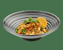 Салат с хрустальной лапшой и лососем (340г)