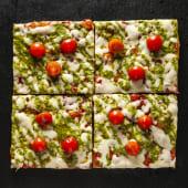 Pizza Pesto (4 pzs.)