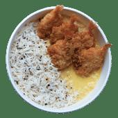 Curry giallo con gamberi