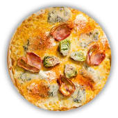 Pizza Gorgonzola & Mascarpone (mitjana)