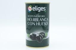Aceituna Eliges Negra Con Hueso 180 Gramos.