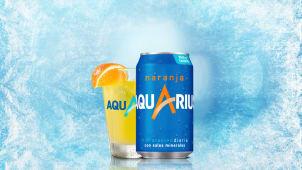 Aquarius de Naranja (33cl)