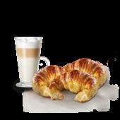 3 medialunas + café o jugo