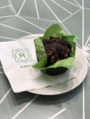Vegan chocolate muffin