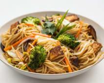 Woked Noodles - Mushroom Vegan