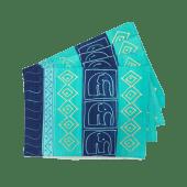 Due placemat - elefanti blu