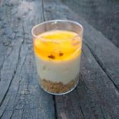 Cheesecake de maracuyá ( Individual )