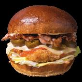 Burger Kura Morales (dwie papryczki) L