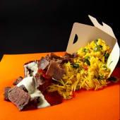 Doner Box Rise (телятина + рис з овочами) XL (350г)